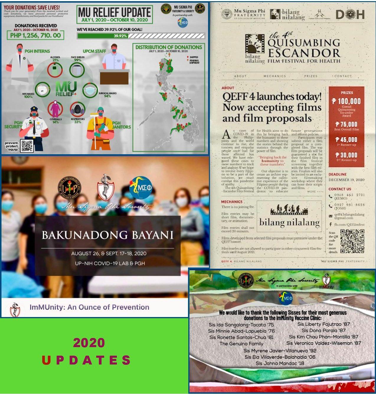 Mu Sigma Phi Foundation - Projects